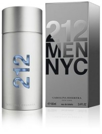 Perfume 212 Men 100ml  - Carolina Herrera Edt