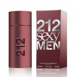 Perfume 212 Sexy Men 100ml Carolina Herrera Edt